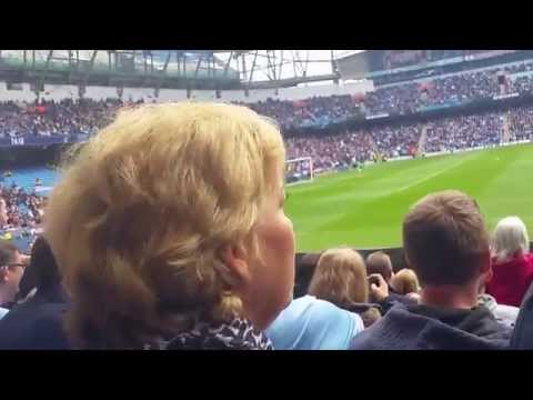 Singing Happy Birthday Just For Yaya Toure Vs QPR