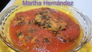 Tortitas De Espinacas Y Pechuga De Pollo