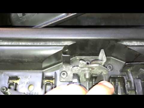 Center console latch 2009 silverado