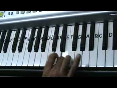 chand taare tod laaoon... keyboard video by mmv
