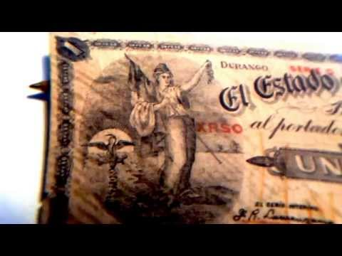 BILLETE DE 1 PESO DURANGO 1914 MEXICO