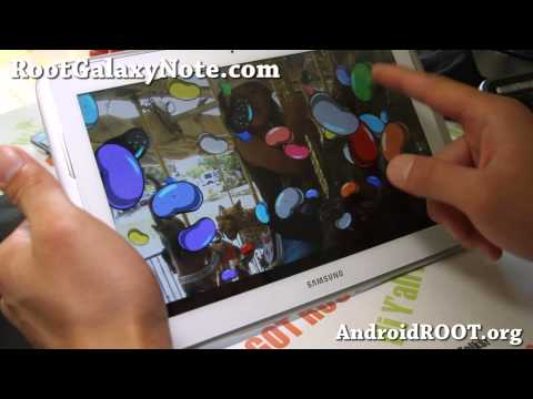 How to Install and Root Jelly Bean on Galaxy Note 10.1!