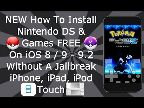 Install Nintendo DS & Games FREE On iOS 7 / 8 - 8.3 NO Jailbreak iPhone. iPad. iPod Touch - NDS4iOS