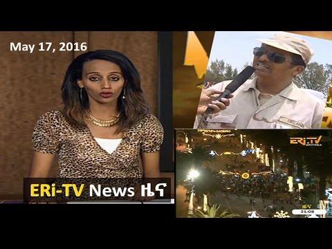 Eritrean News (May 17, 2016) | Eritrea ERi-TV