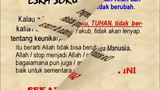 Pdt. Esra Soru : MENJAWAB ISLAM - MENGAPA YESUS TIDAK TAHU HARI KIAMAT?