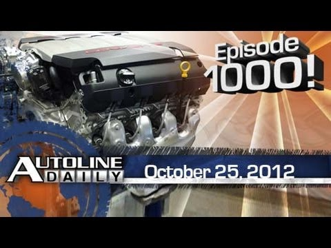 C7 Corvette Engine Revealed - Autoline Daily 1000
