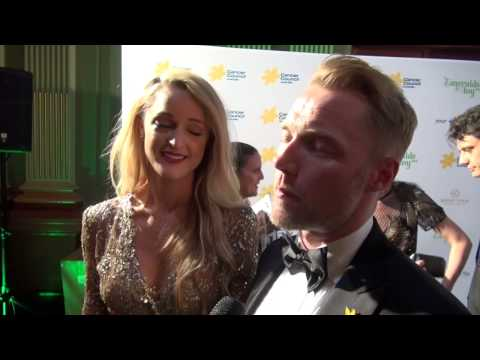 Ronan Keating - Emeralds and Ivy Ball Sydney 2014