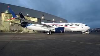 En vivo Acompáñanos a la ceremonia de presentación del primer Boeing 737 MAX 8 de Aeromexico