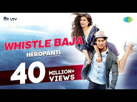 Whistle Baja - 'heropanti' | Video Song | Tiger Shroff,kriti Sanon video