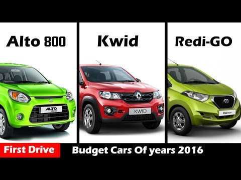 Maruti Alto 800 vs Renault Kwid vs Datsun Redi-GO ,entry-level hatchbacks|First Drive|