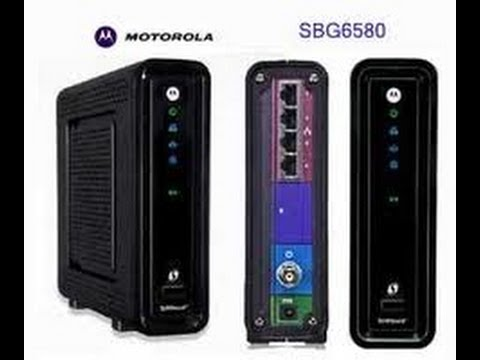 Motorola Surfboard SBG6580 Unboxing & test