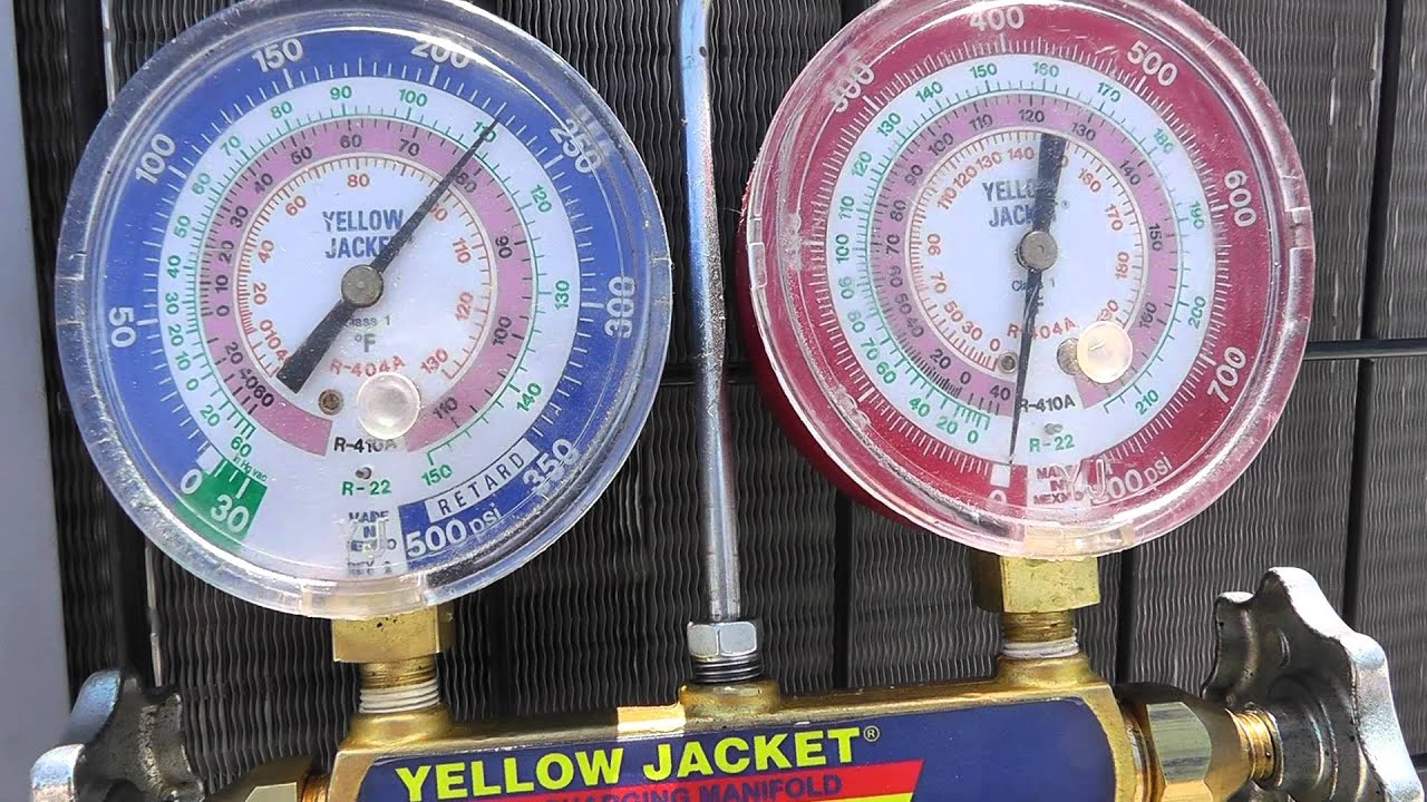 Using Manifold Gauges For An Air Conditioning System Pt2
