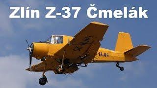 Zlin Z-37A, Airshow Prerov 2018