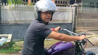 Test Ride motor mesin diesel ruggerini 550 cc