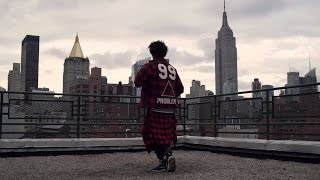 Les Twins dance along the NYC skyline