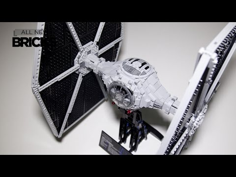 Lego Star Wars 75095 UCS TIE Fighter Speed Build