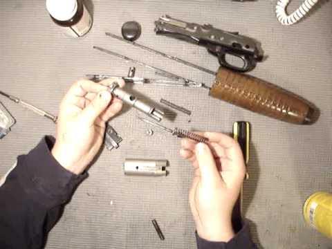 winchester 1200, 1300, 120ranger bolt dissassembly, reassembly