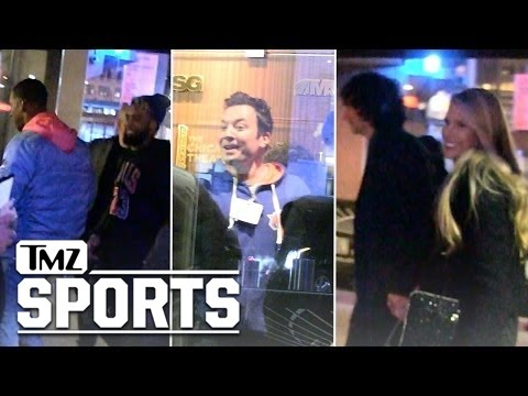 NY Knicks -- Huge Stars Watch LeBron Dominate | TMZ Sports