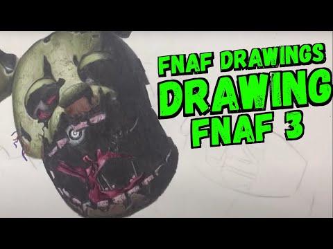 Drawing FNAF 3