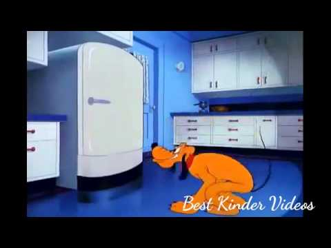 Walt Disney Animated Movie Film: Pluto. Plutopia (1 Hour) Animated Cartoon, video