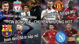 Tin bóng đá|Chuyển nhượng 23/06|Real gạ MU đổi Bale lấy Pogba, Liver bất ngờ muốn tái hợp Coutinho!