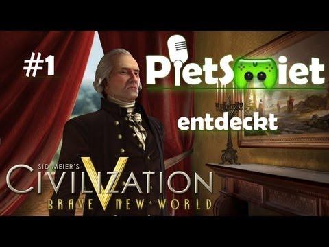 CIVILIZATION V # 1 - Hardi der Anfänger «»  Let's Play Civizliation V   HD