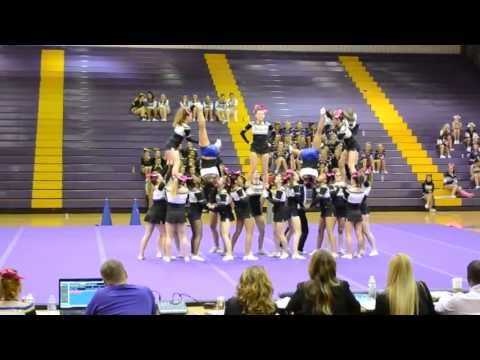 Osbourn Park high school cheer competition 2013