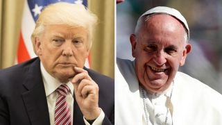Trump vs Pope Francis: War of words leading up to meeting