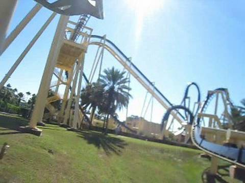 Montu Front Row Seat On Ride Pov Busch Gardens Tampa Youtube
