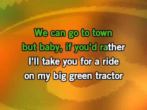 Jason Aldean - Big Green Tractor Karaoke video