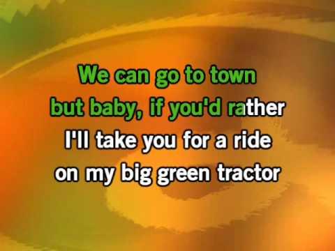 Jason Aldean - Big Green Tractor Karaoke video