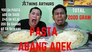 MUKBANG MAKAN PASTA ABANG ADEK TOTAL 2000 GRAM / 2 KG HABIS ??? #EPS8 MUKBANG INDONESIA SPAGHETTI