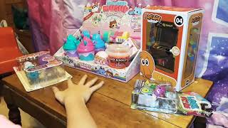 So Many New Toys... Smooshy Mooshy, Q-bert Mini Arcade, Cake Pop Cuties, & More !