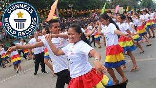 Largest samba dance - Guinness World Records