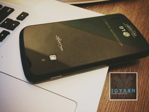 Nexus 4 India Launch - Hands On - Benchmarks and More Feat. LG Optimus G - iGyaan