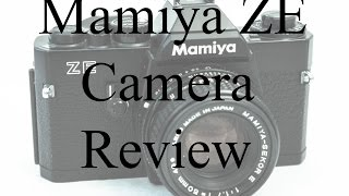 Mamiya ZE 35mm Film Camera Review