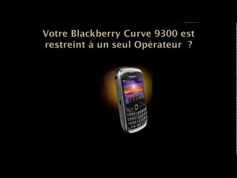 Comment debloquer Blackberry curve 9300 - desimlocker BB Curve 9300