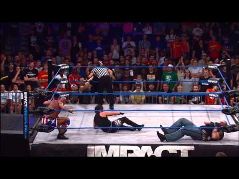 """Rampage"" Jackson Comes to the Rescue for Kurt Angle - June 13, 2013"