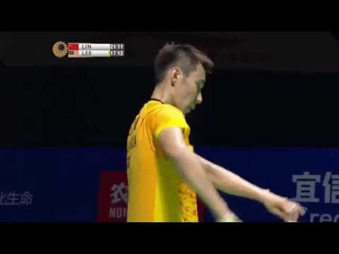 Thaihot China Open 2015 | Badminton SF M3-MS | Lin Dan Vs Lee Chong Wei