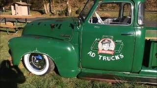 1950 Chevy Truck 3100 Bagged Air Ride