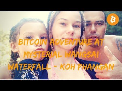 Bitcoin adventure at Mysterial Wangsai Waterfall - Koh Phangan