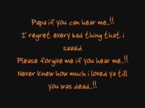 N Dubz     Papa  Can you hear me   lyrics