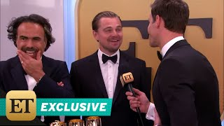 EXCLUSIVE: Leonardo DiCaprio Reveals Truth About His Reaction to Ladya at Globes