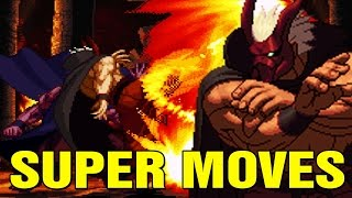 Garou Mark of the Wolves All Super Moves Hidden Potential Arcade NeoGeo