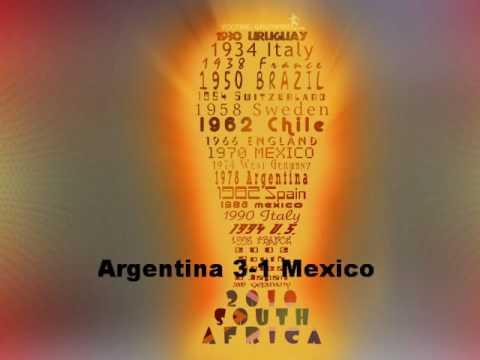 My World Cup 2010 Last 16 Predictions