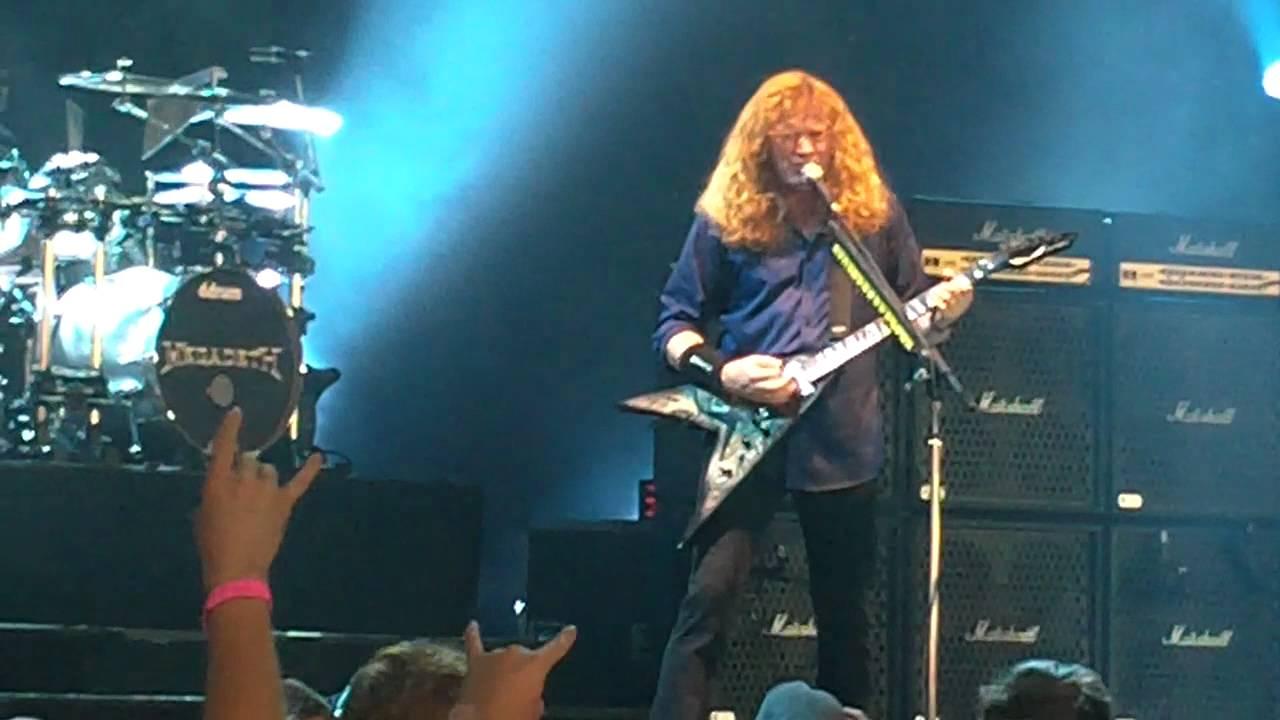 Mayhem Fest 2011 Atlanta Megadeth Mayhem Fest 2011