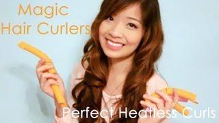 Magic Hair Curlers - Perfekte Locken ohne Hitze Demo & Erster Eindruck
