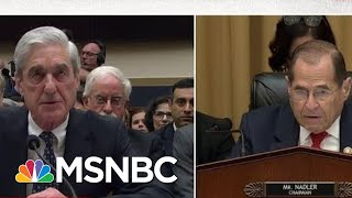 Robert Mueller Testifies Under Oath That His Report Does Not Exonerate President Trump | MSNBC