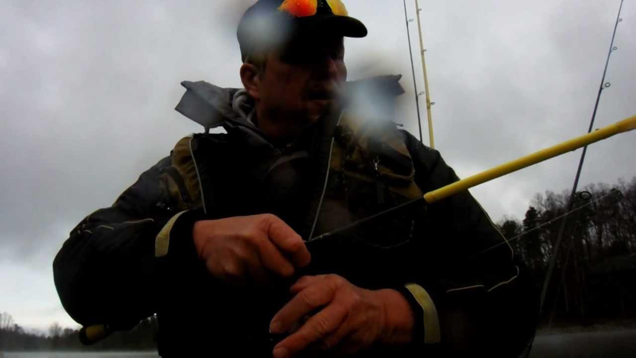 Fishing on lake keowee sc youtube for Lake keowee fishing report
