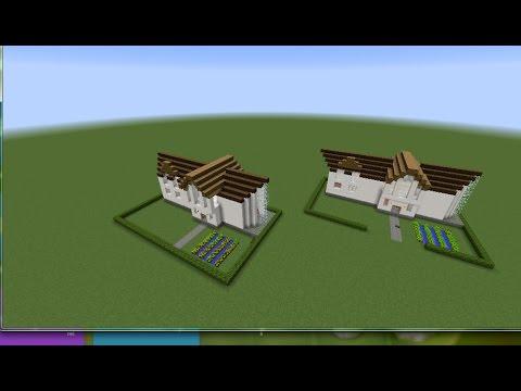 Как сделать механический дом с командными блоками 19